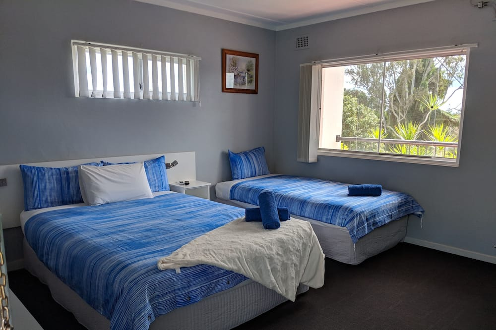 Habitación con 1 cama doble o 2 individuales, Varias camas, vista a la colina - Camas extra