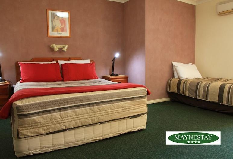Maynestay Motel, Gunnedah, Izba typu Deluxe, nefajčiarska izba (Deluxe Queen 4), Hosťovská izba