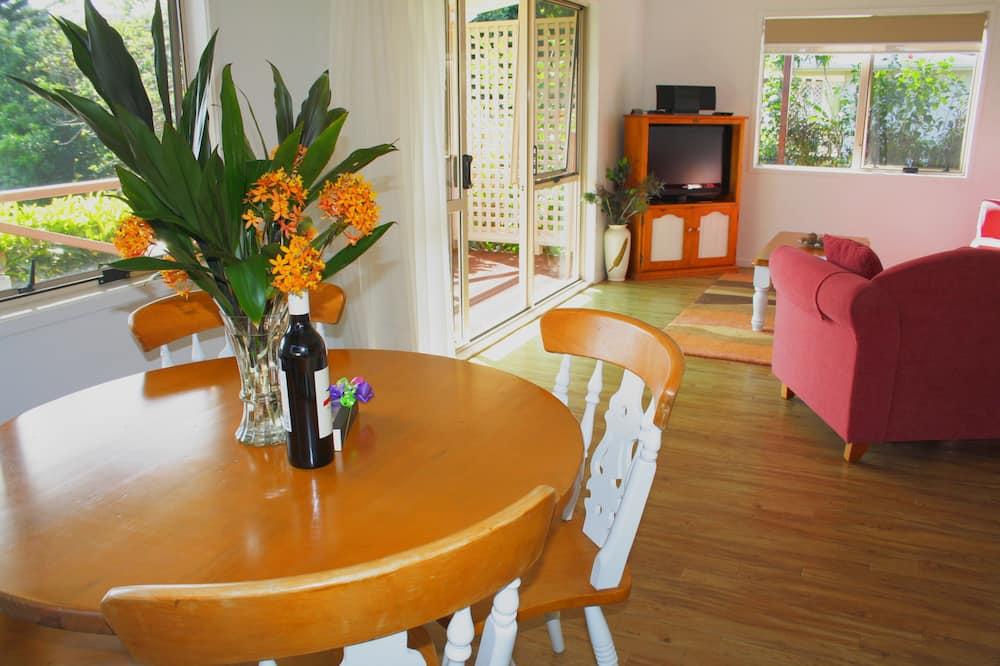 高級套房, 1 間臥室, 非吸煙房, 廚房 (Superior Cottage) - 客廳