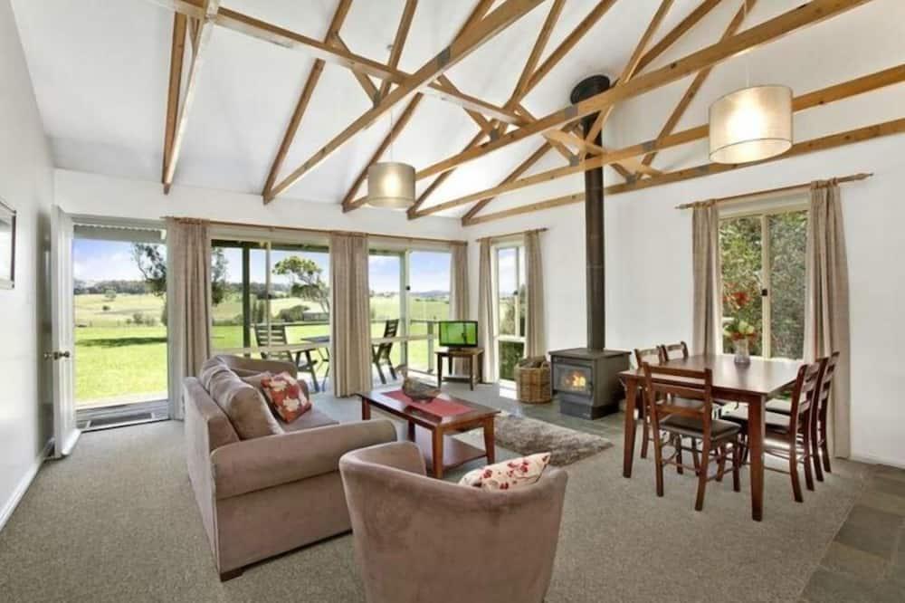 Эксклюзивный коттедж, 2 спальни, вид на долину - Зона гостиной