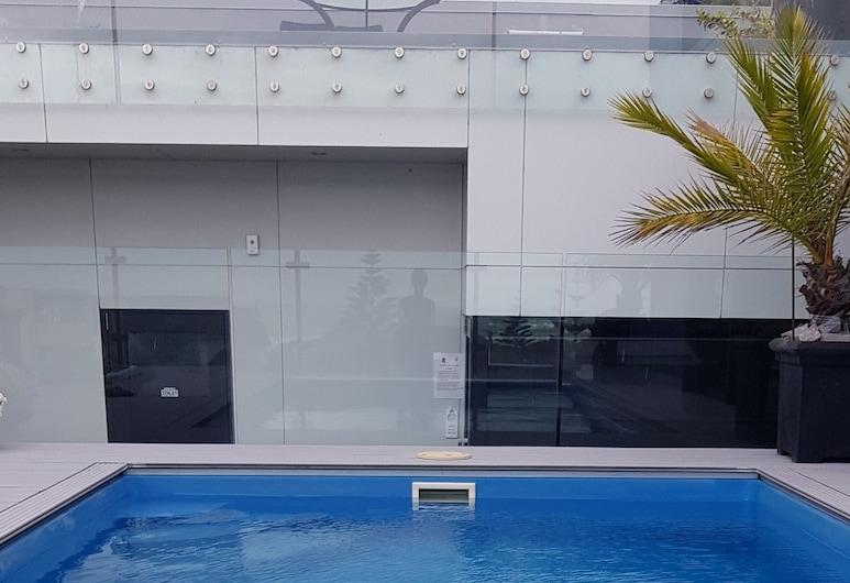 Sumner Re Treat, Christchurch, Standard Στούντιο, 1 Διπλό Κρεβάτι, Εξωτερική πισίνα