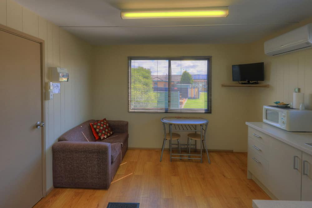 經濟小屋, 1 張標準雙人床 - 客廳