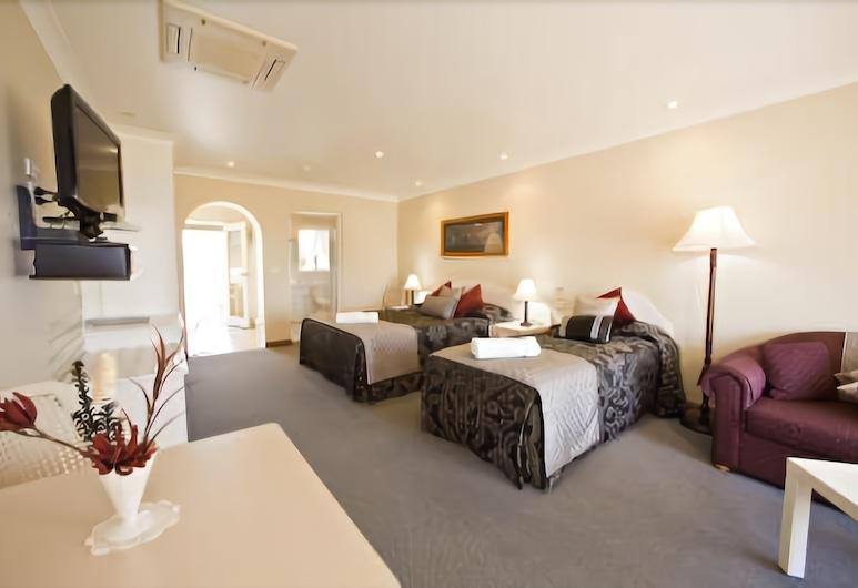 Harbourview Motel, Bermagui, Suite estándar, 1 habitación, no fumadores, cocina básica (Balcony View), Habitación