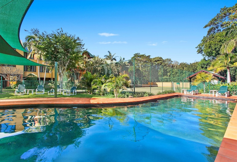Byron Links Apartments, Byron Bay, Alberca al aire libre