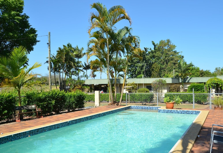 Beerwah Glasshouse Mountains Motel, Glass House Mountains, Piscina al aire libre