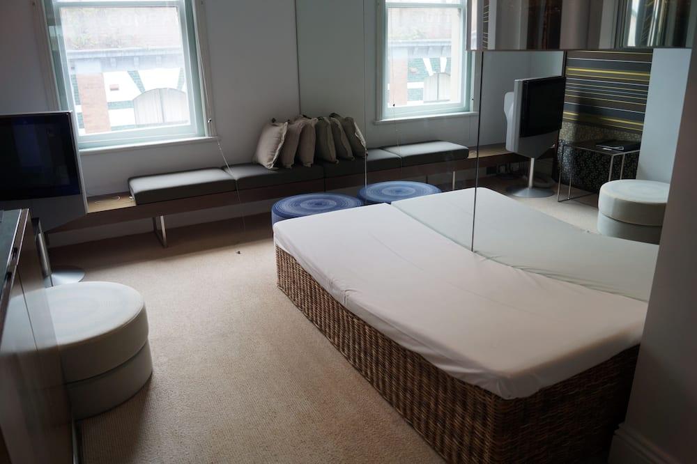 Svit Standard - 2 sovrum - icke-rökare - badkar (Heritage Suite) - Vardagsrum