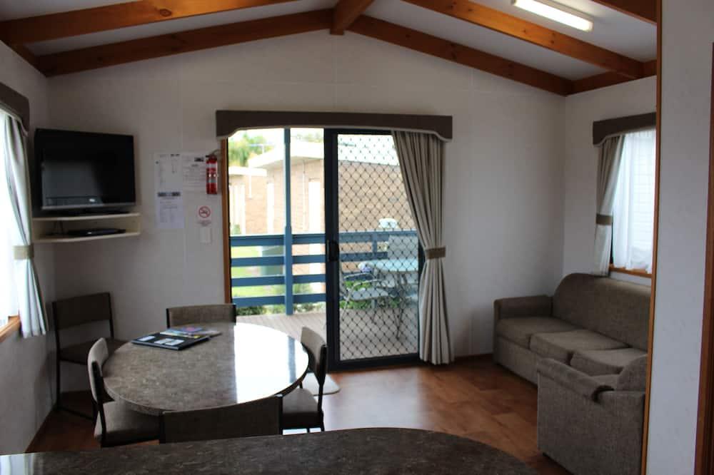 Вилла «Делюкс», 2 спальни, балкон - Зона гостиной