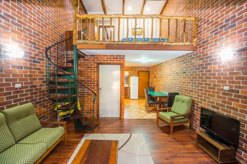 Suite estándar, 2 habitaciones, para no fumadores, cocina (King Bed Apartment) - Sala de estar