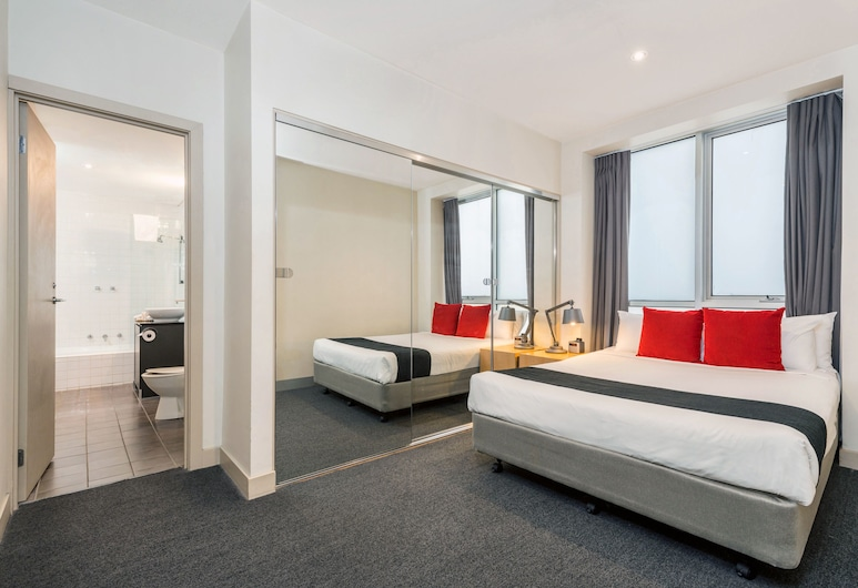 BreakFree on Collins, Melbourne, Two Bedroom Apartment with Balcony - Unserviced, Room