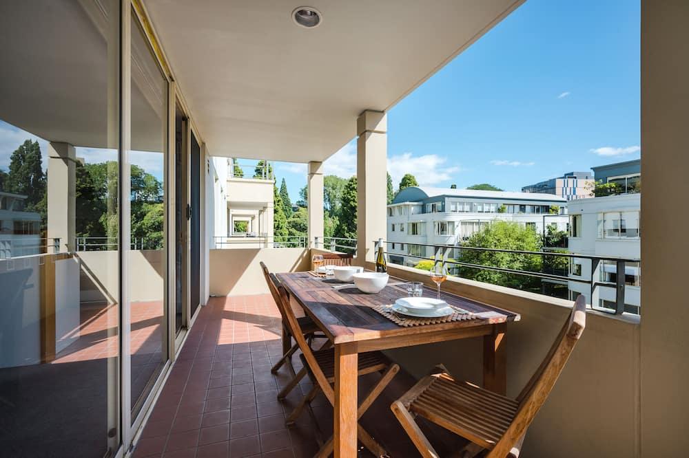 Appartamento Premium, 2 camere da letto, cucina (The Plaza Apartment ) - Balcone
