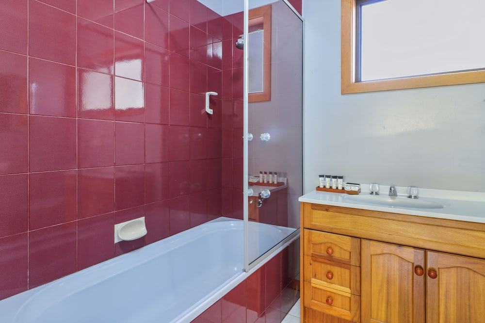 Superior studio, niet-roken, keuken (Studio Apartment) - Badkamer