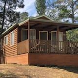 Deluxe-Ferienhütte, 2Schlafzimmer, Nichtraucher (Deluxe Cabins) - Blick vom Balkon