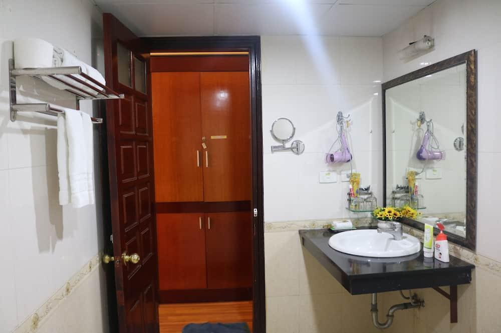 高級雙人或雙床房 - 浴室
