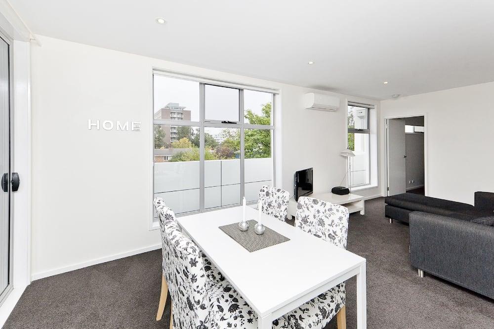 Executive appartement, 2 slaapkamers, keuken (Located in Braddon (Zirconia)) - Woonruimte