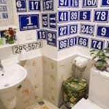 Chambre Deluxe Double ou avec lits jumeaux, 1 chambre, vue ville - Salle de bain