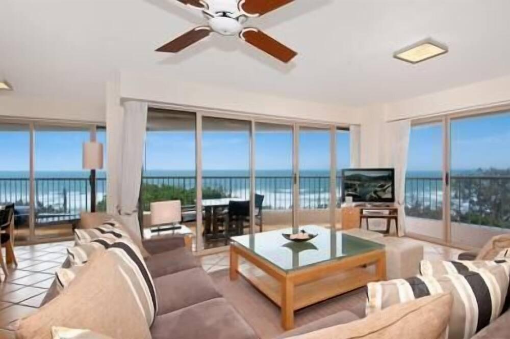 Appartamento Premium, 2 camere da letto, vista oceano - Area soggiorno