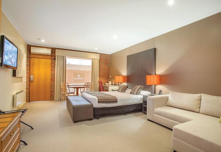 Sovereign Park Motor Inn, Golden Point (Ballarat), Executive-rum - icke-rökare - bubbelbad (Executive Spa Room), Gästrum