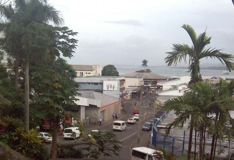 City Private Hotel, Suva, Balcony