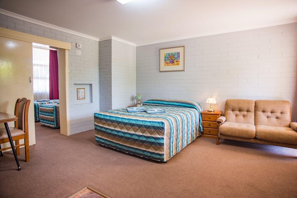 Familien-Suite, 2Schlafzimmer, Nichtraucher, Kochnische - Wohnbereich