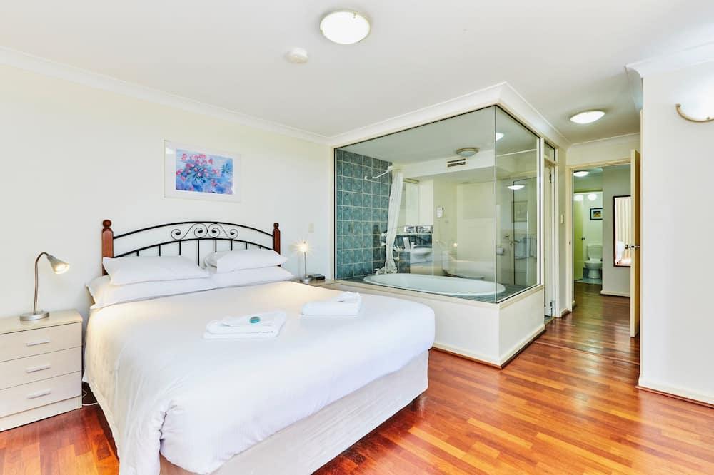 Standaard appartement, bubbelbad, uitzicht op zee - Privéspabad
