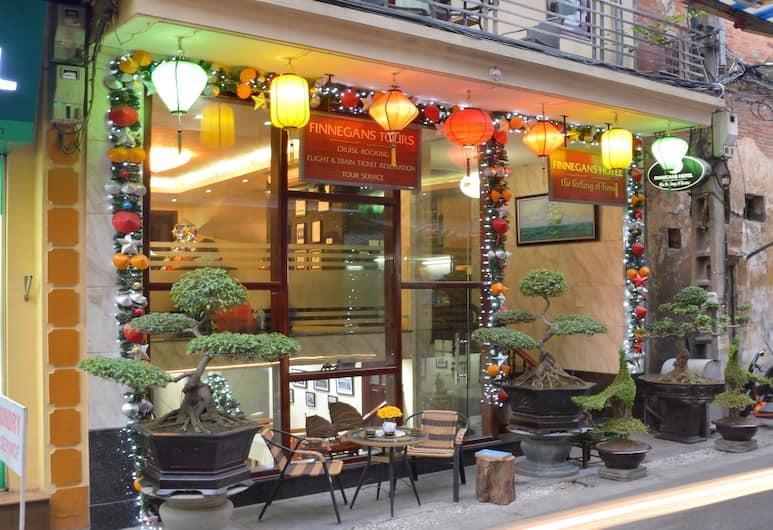 Finnegans Hotel, Hanoi, Hoteleingang