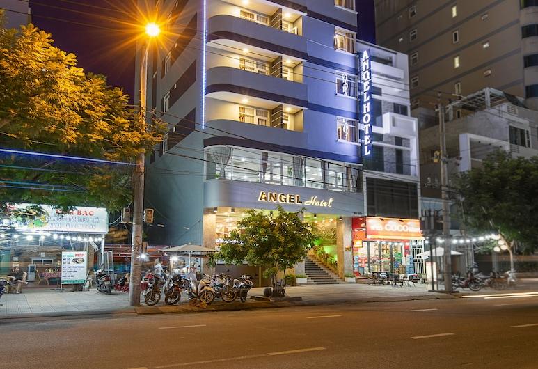 峴港天使酒店, 峴港, 酒店入口 - 夜景