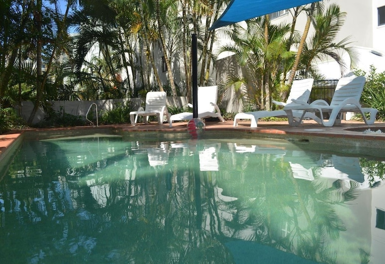 King's Row Holiday Apartments, Kings Beach, Basen odkryty