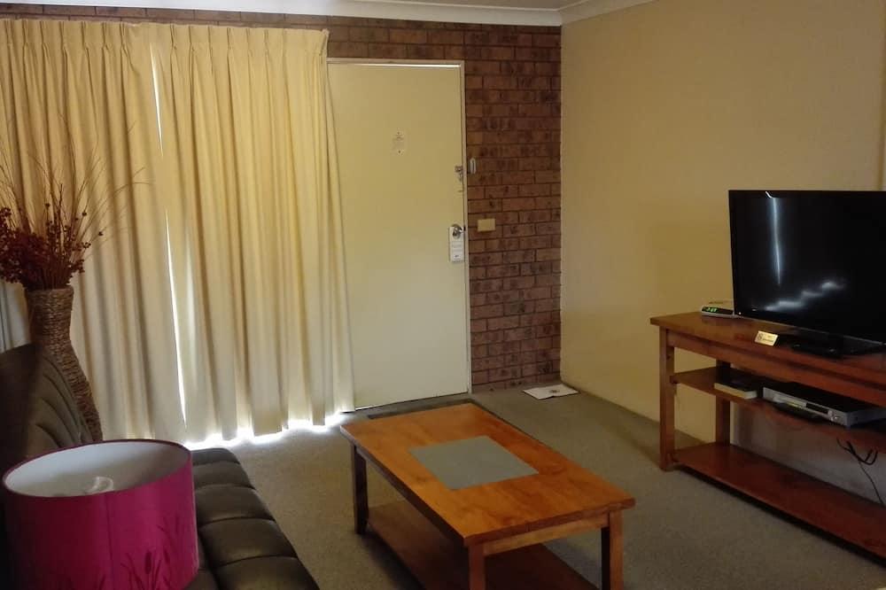 Standard Σουίτα, 1 Υπνοδωμάτιο, Μη Καπνιστών, Κουζίνα (Apartment) - Περιοχή καθιστικού