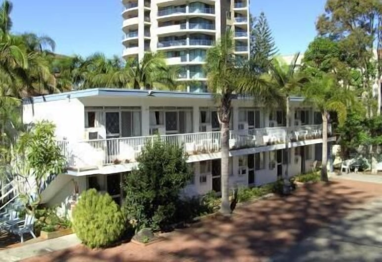 Great Lakes Motor Inn, Forster, Fasada hotelu