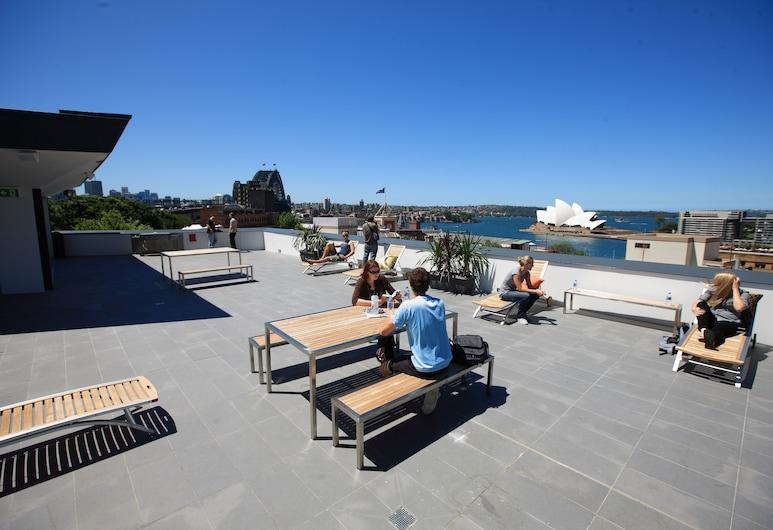 Sydney Harbour YHA - Hostel, The Rocks, Terras