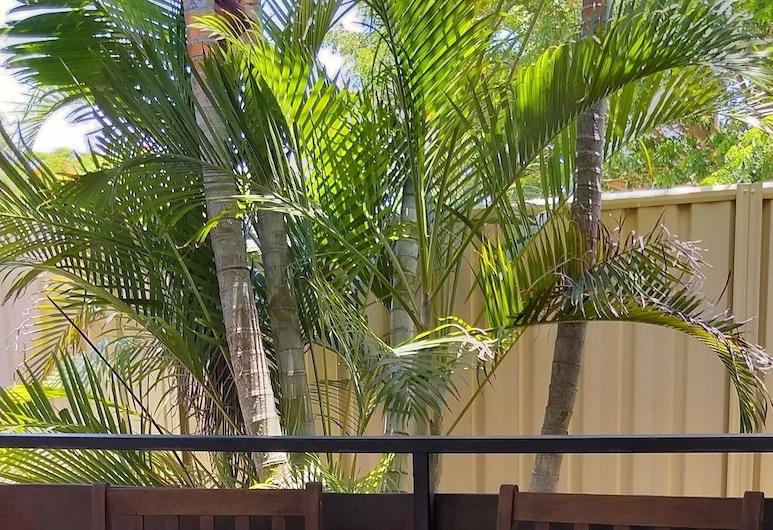 Emerald Motel Apartments, Emerald, Terraza o patio