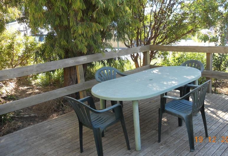 Summer's Rest Units, Port Campbell, Διαμέρισμα, 3 Υπνοδωμάτια, Αίθριο/βεράντα