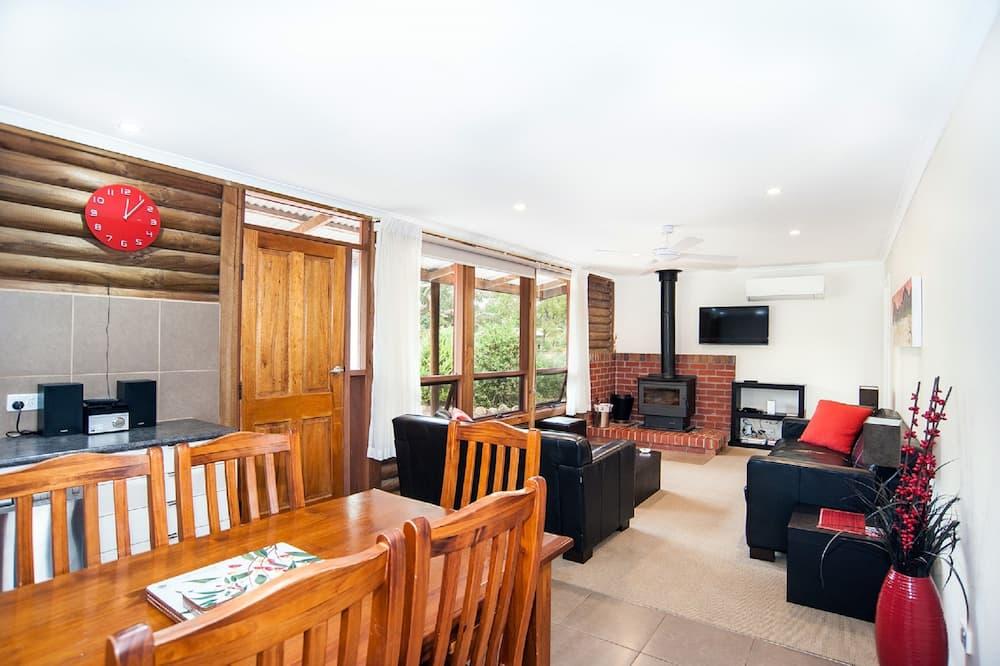 Luxusný apartmán, masážna vaňa - Obývacie priestory