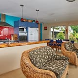 דירת סטנדרט, חדר שינה אחד, מטבח (Seaview) - אזור מגורים