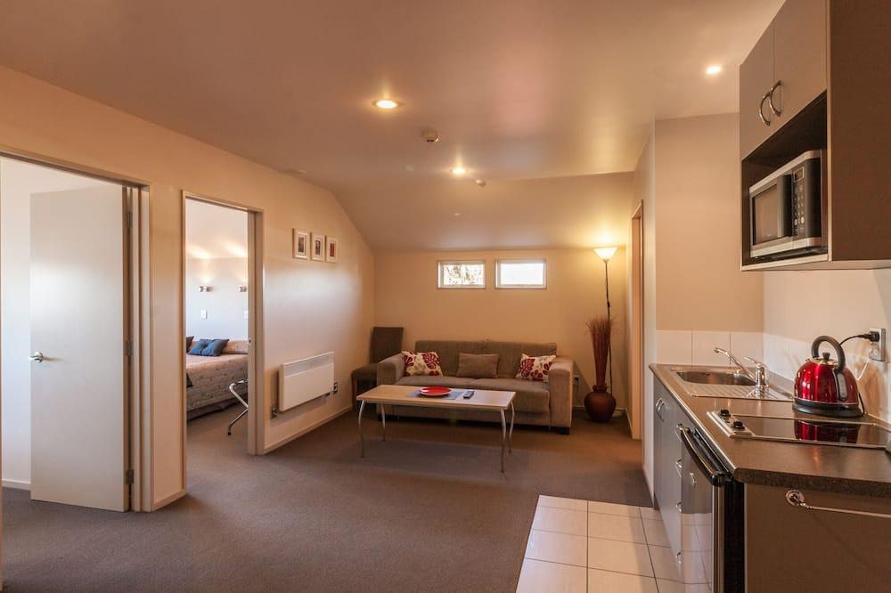 Darījumklases luksusa numurs, divas guļamistabas - Dzīvojamā istaba