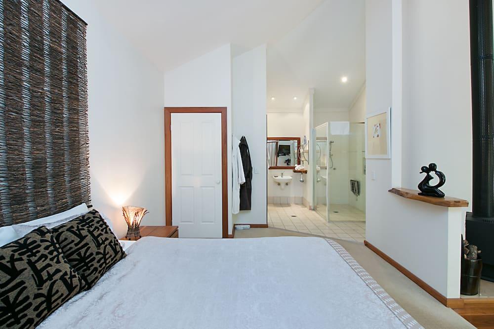 Standartinio tipo numeris, 1 miegamasis, Nerūkantiesiems, virtuvė (Rainforest) - Vonios kambarys