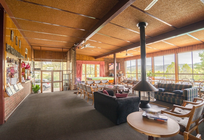 High Country Motel, Cooma, Aulan oleskelutila
