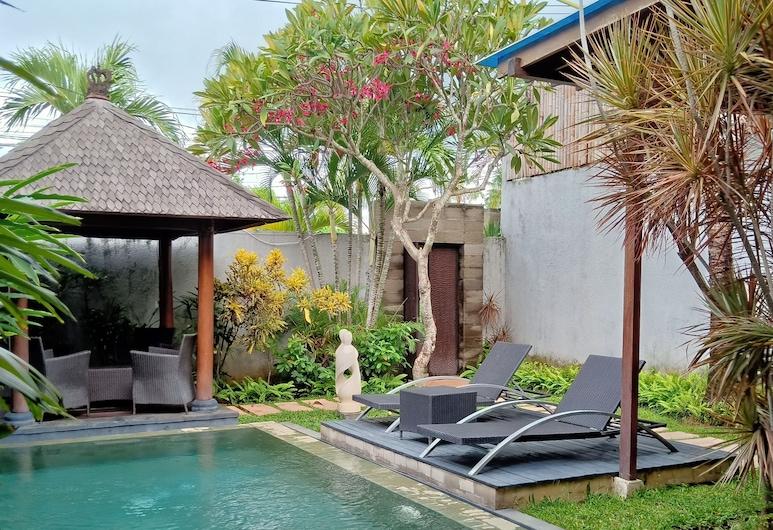 Grania Bali Villa, Seminyak, Vila, 2 quartos, Piscina particular, Vista do quarto