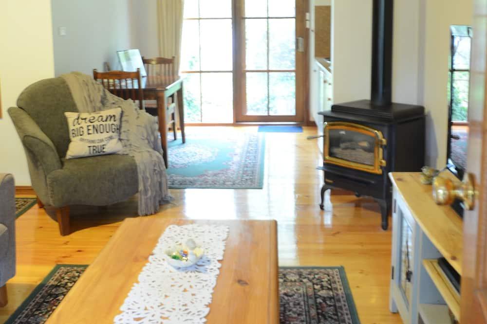 Casa de campo Deluxe, 1 cama Queen size - Sala de estar