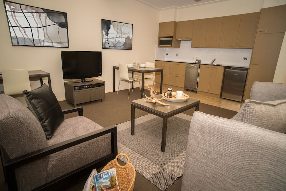 Departamento estándar, 1 habitación, para no fumadores, cocina básica (Apartment) - Sala de estar