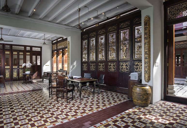 Seven Terraces Hotel, George Town, Reception