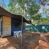 Basic-Ferienhütte - Terrasse/Patio