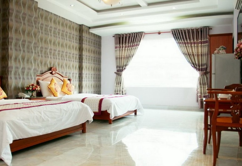 Golden Palm Hotel, Ho Chi Minh City, Family Room, Guest Room