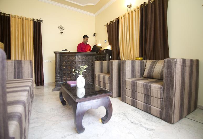 Apnayt Villa, Jodhpur, Zitruimte lobby