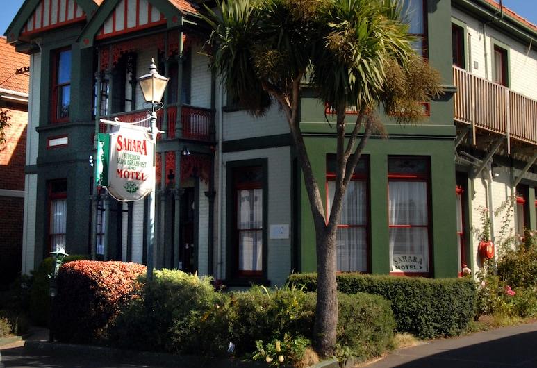 Sahara Motels, Dunedin, Entrée de l'hôtel