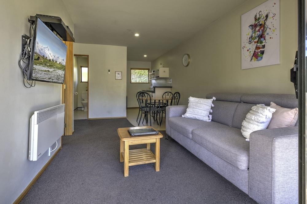 Suite Familiale, 2 chambres, non-fumeurs, cuisine (Family Unit) - Coin séjour