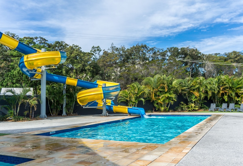 Nobby Beach Holiday Village, Mermaid Waters, Piscina al aire libre