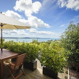 Апартаменти «Делюкс», 2 спальні, кухня, з видом на океан (Kawau) - Тераса/внутрішній дворик