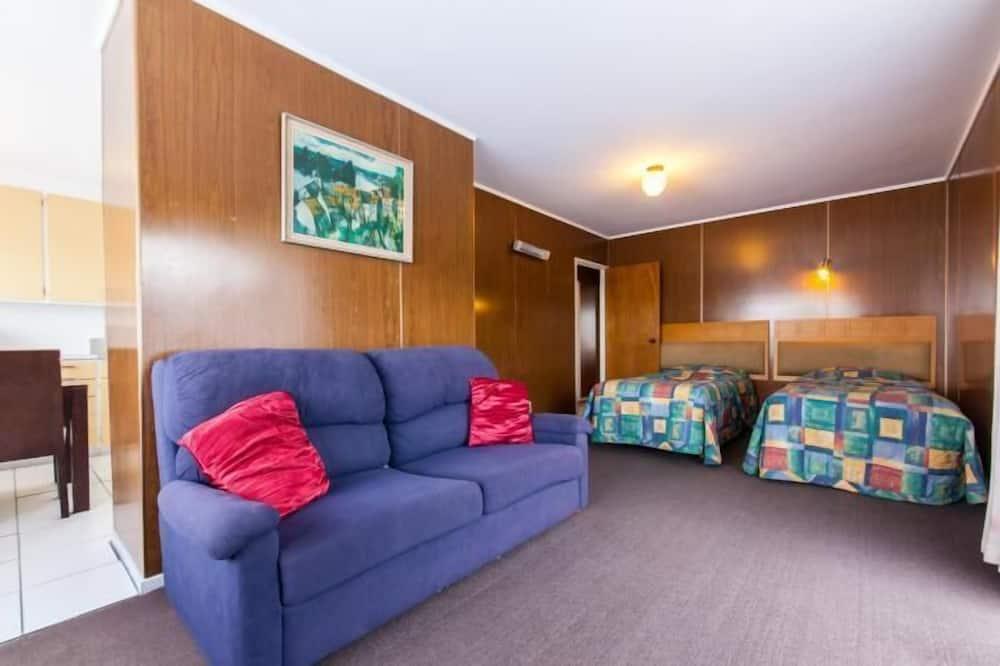 Standard-sviitti, 2 makuuhuonetta, Tupakointi kielletty, Keittiö (Unit) - Oleskelualue