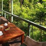 Bungalow Supérieur, 1 très grand lit, vue jardin (Rainforest Canopy) - Balcon
